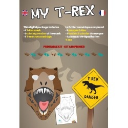 Masque T-Rex