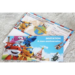 Kit anniversaire Super Wings
