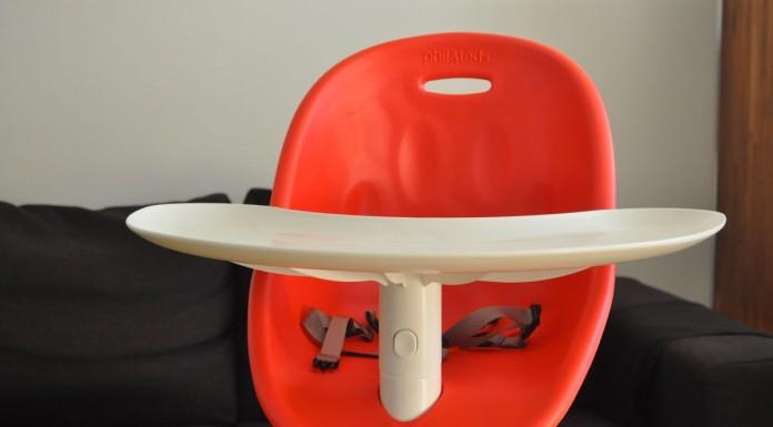 Chaise haute bébé Poppy de la marque Phil&Teds
