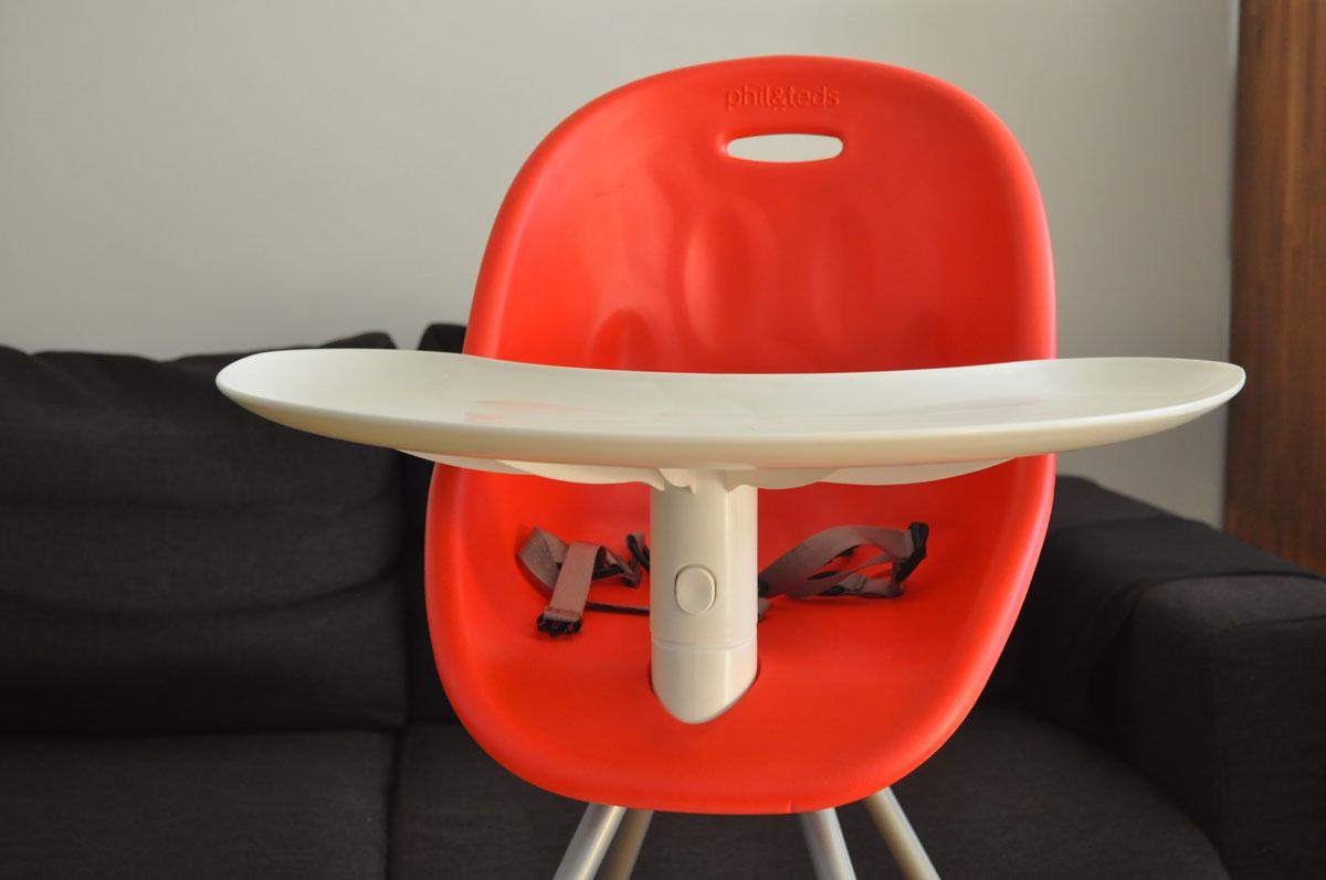 mon avis sur la chaise haute bébé Poppy de Phil&Teds