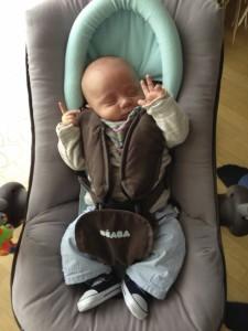 Transat Up&Down avec le réducteur de siège pour nourrissons