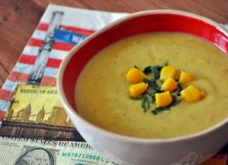 soupe au maïs pour bébé chowder
