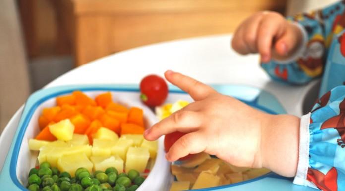 diversification menée par l'enfant finger food