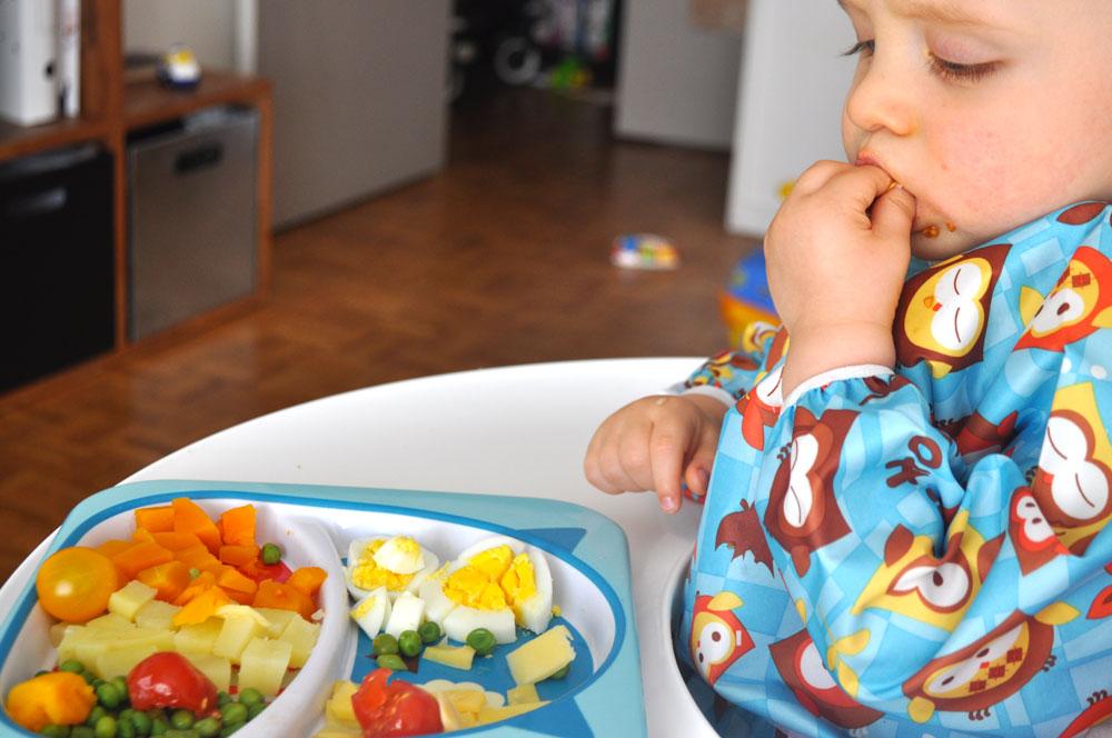 finger food ou diversification menée par l'enfant