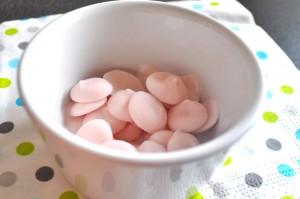 dragées de yaourt pour bébé