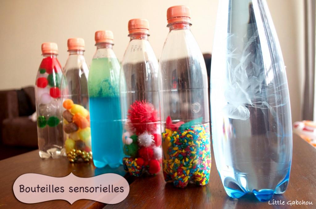 sensory bottles bouteilles sensorielles pour bébé