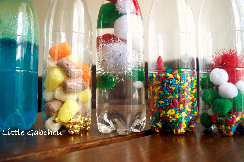 Relativ Activités d'éveil Montessori: créer des bouteilles sensorielles NT36