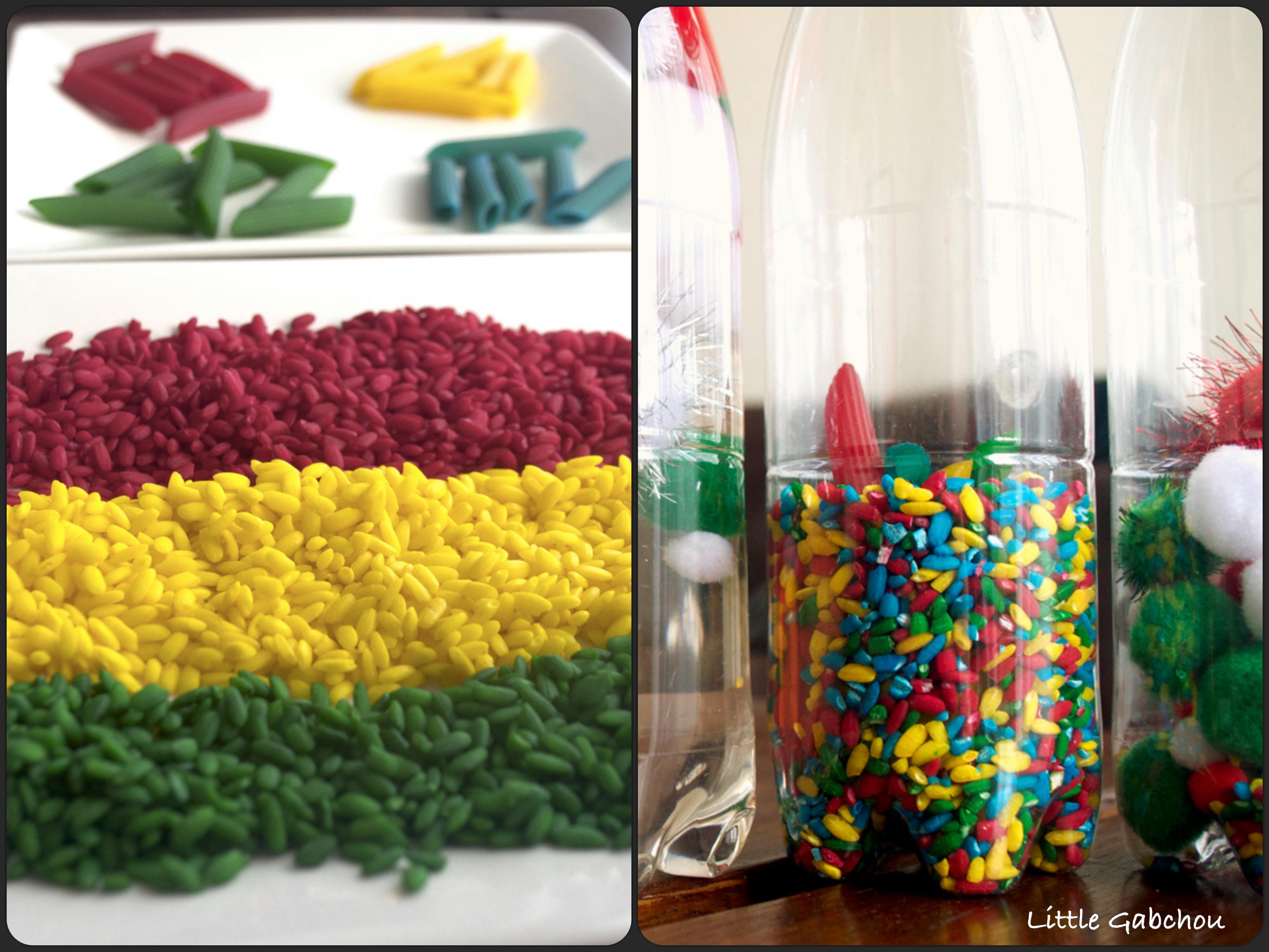 Activit s d 39 veil montessori cr er des bouteilles - Comment faire des decoration d halloween ...