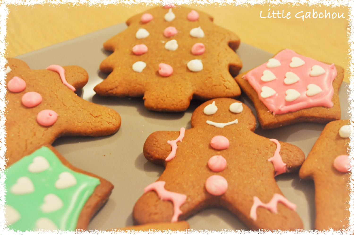 recette gingerbread cookies