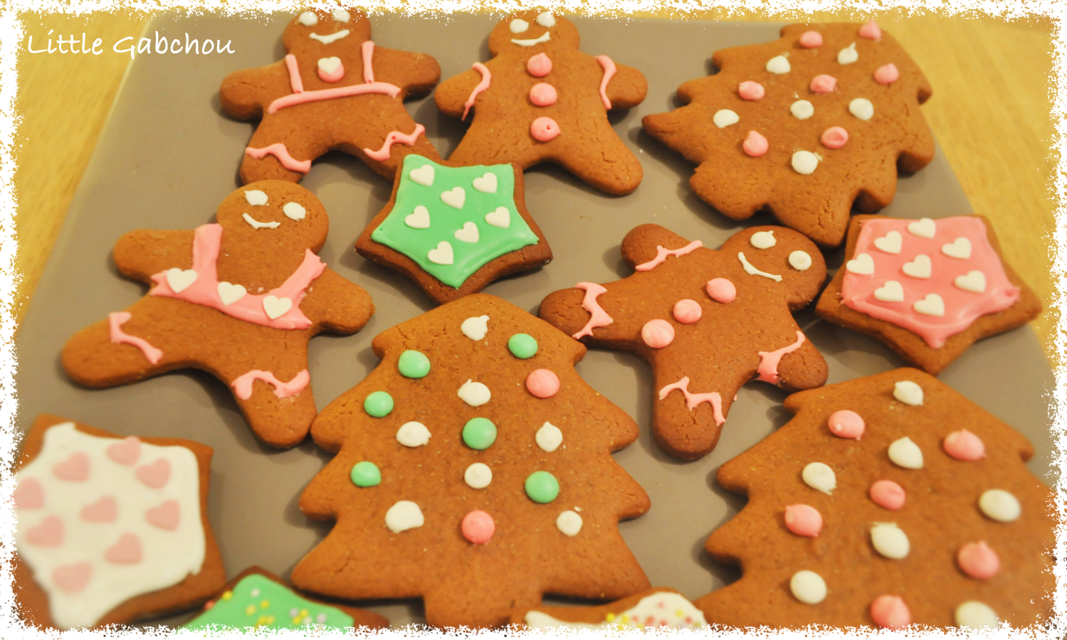 gingerbread cookies de Noël