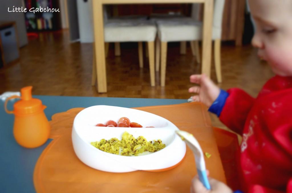 assiette compartimentée pour DME Mastrad Baby