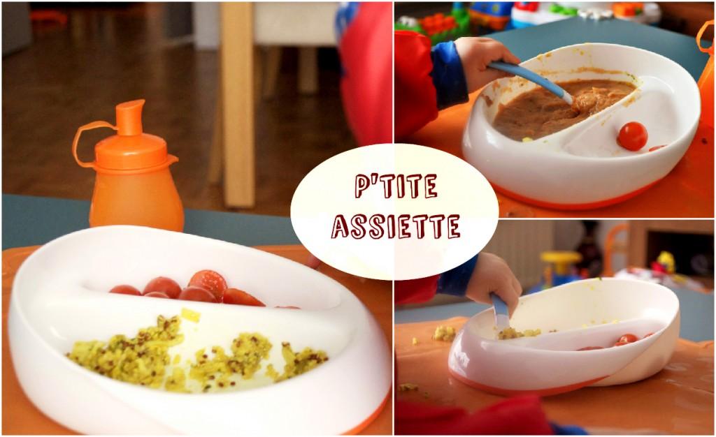 assiette compartimenté DME Mastrad baby avis accessoire de repas