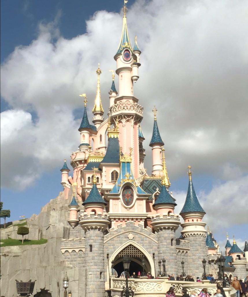 château de Cendrillon Disneyland Paris