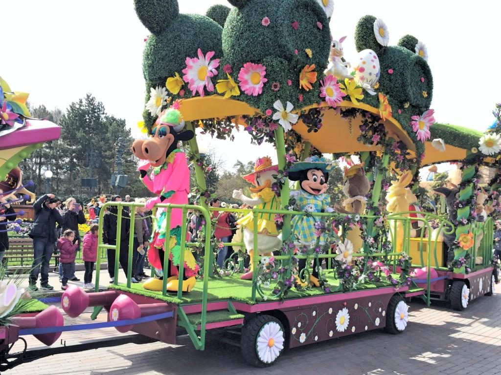 La parade de Minnie