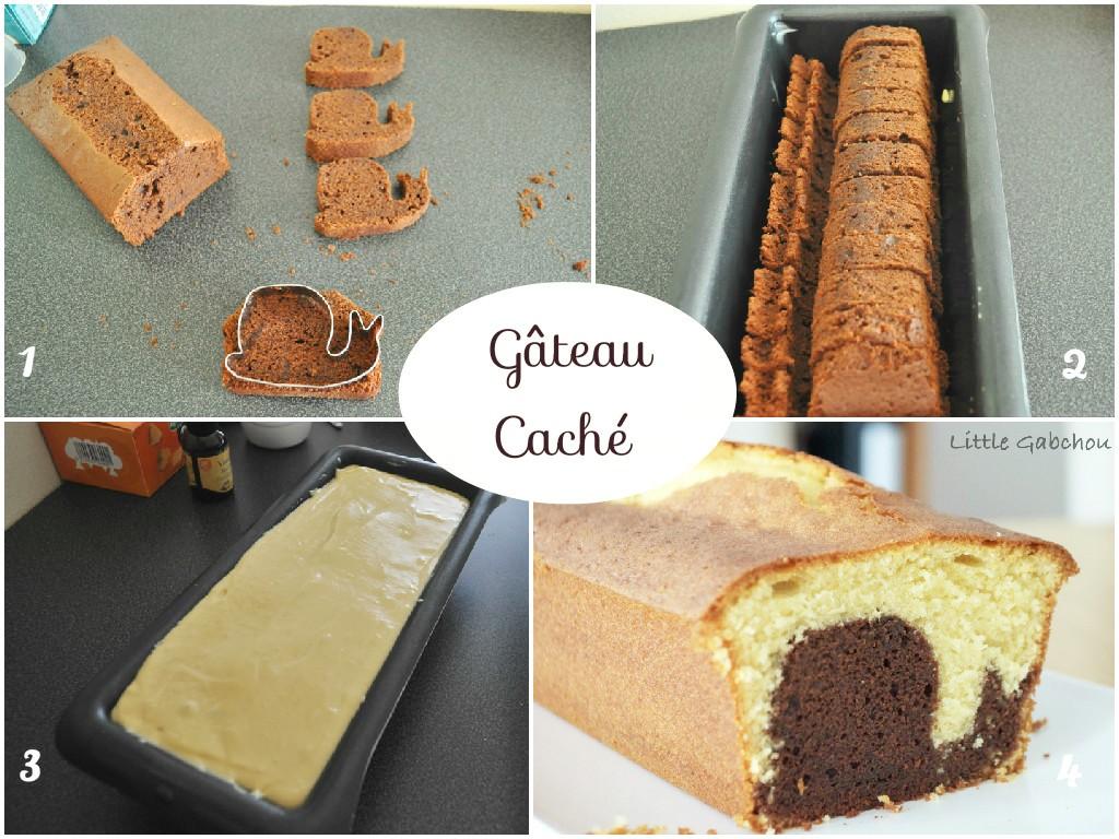 comment préparer hidden cake gâteau surprise recette