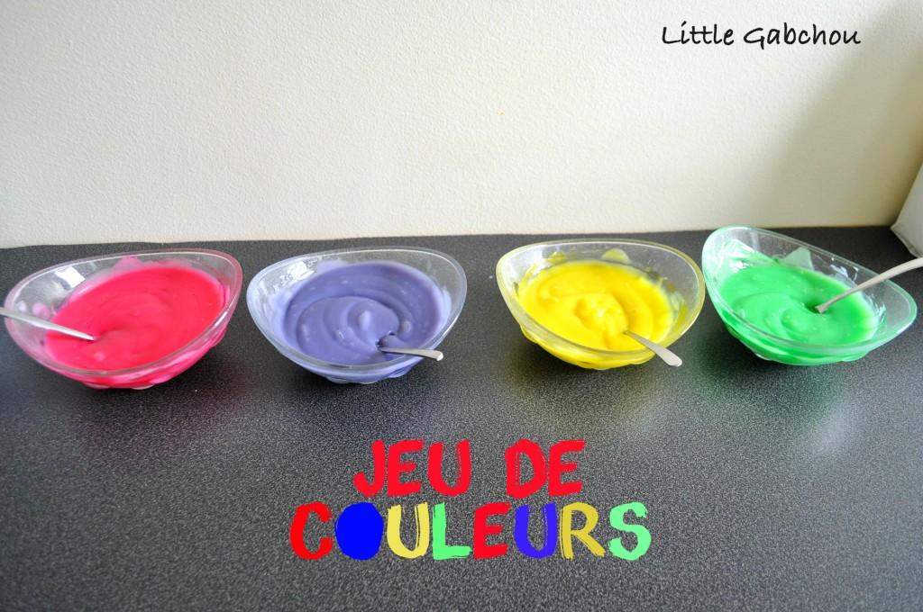 peinture au doigt recette maison homemade finger paint