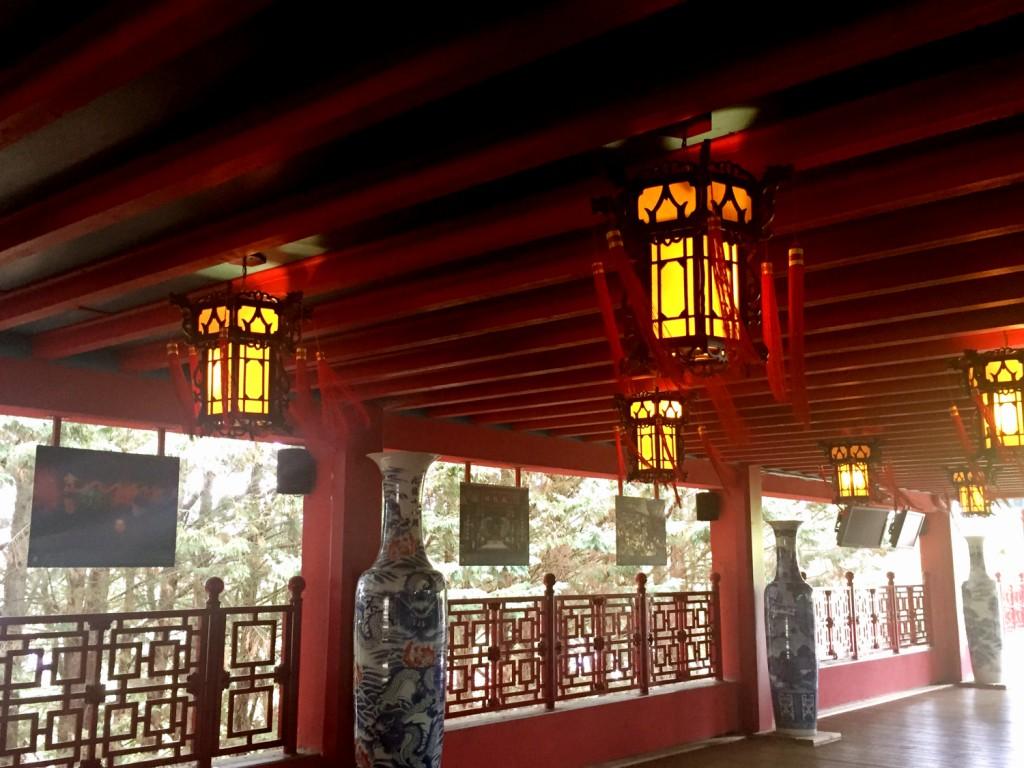 décor chinois zoo de Beauval