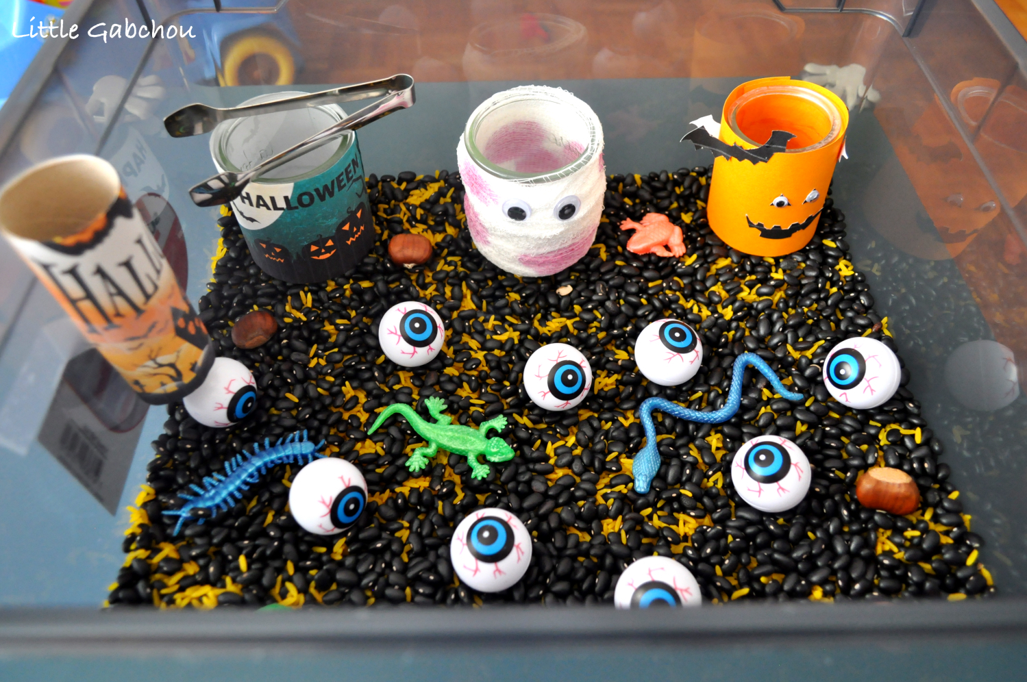 Bevorzugt Activité Montessori: le bac sensoriel sur le thème d'Halloween BK46