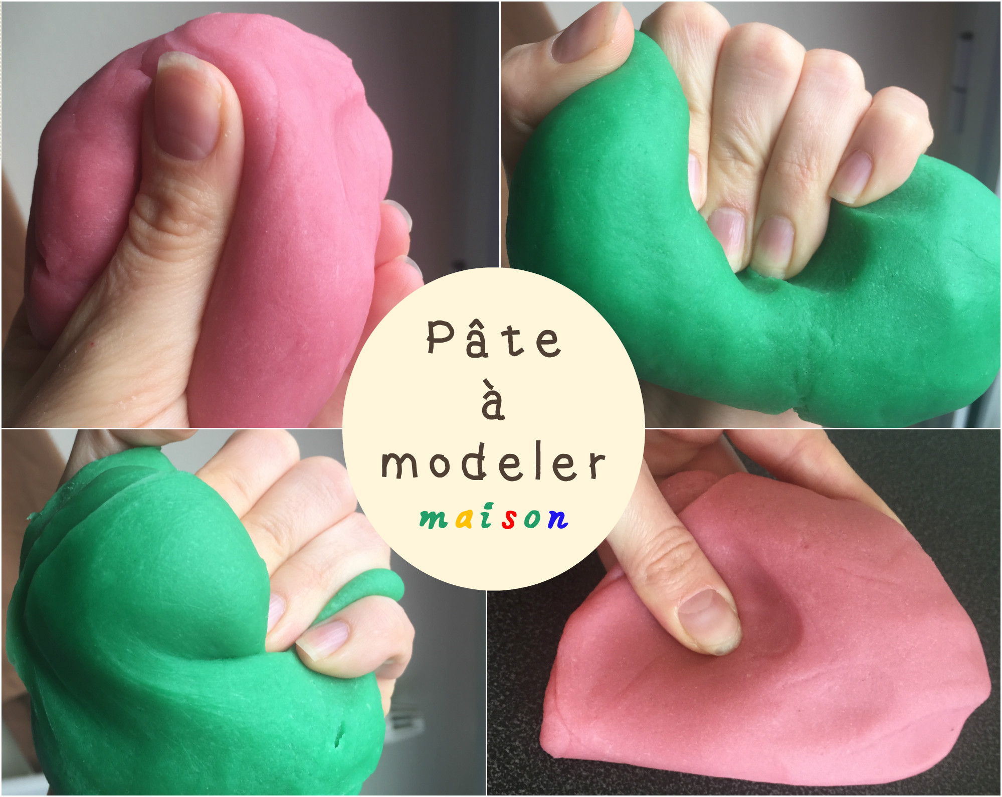 Fabriquer sa p te modeler maison comme le play doh du magasin - Creation a faire a la maison ...