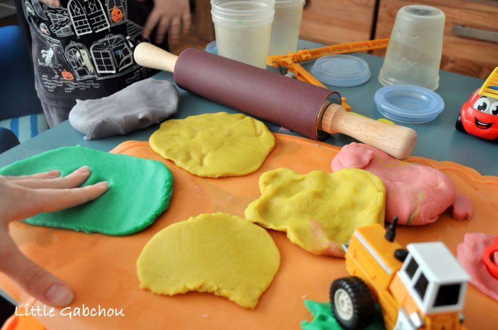 pâte a modeler maison homemade
