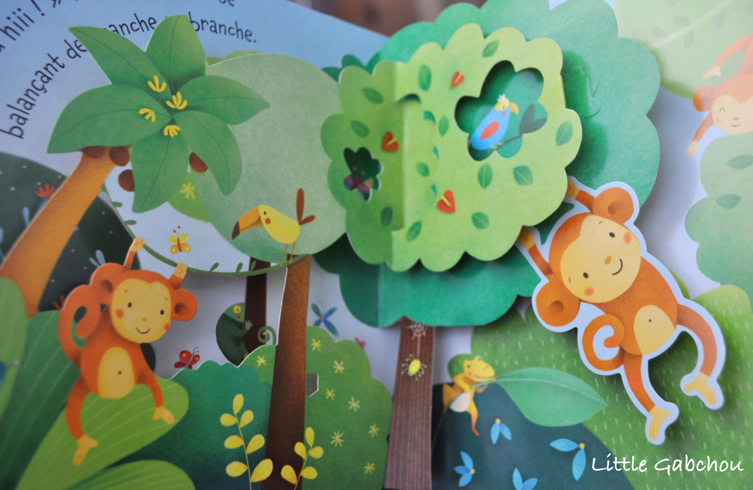 mon livre pop up la jungle des ditions usborne. Black Bedroom Furniture Sets. Home Design Ideas