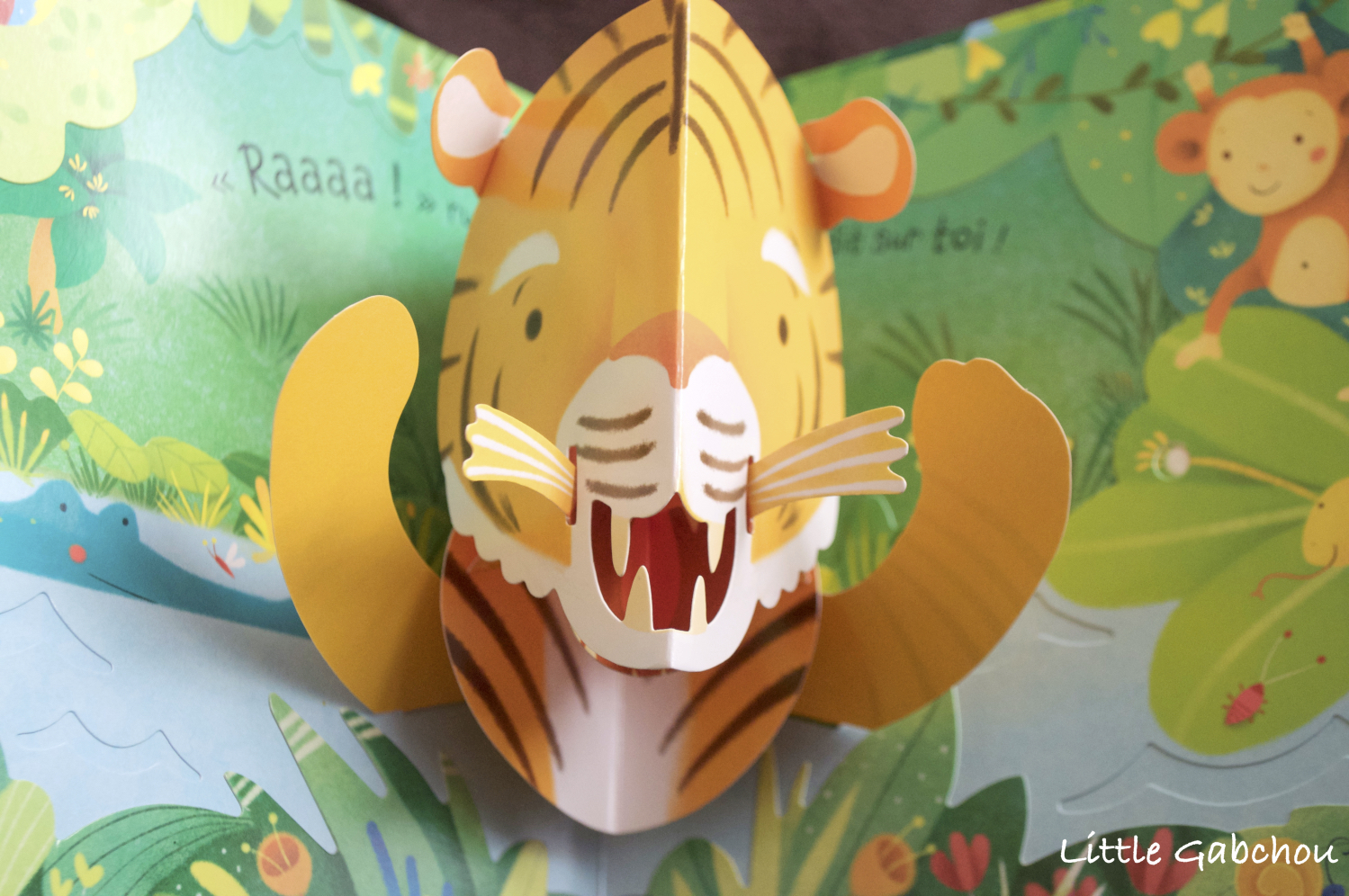 "Fabuleux Mon livre pop up ""La jungle"" des éditions Usborne PN77"