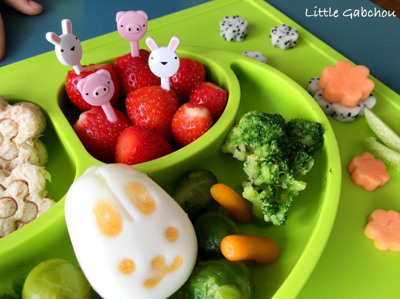 EzPz fun assiette food design pour enfants et bébés