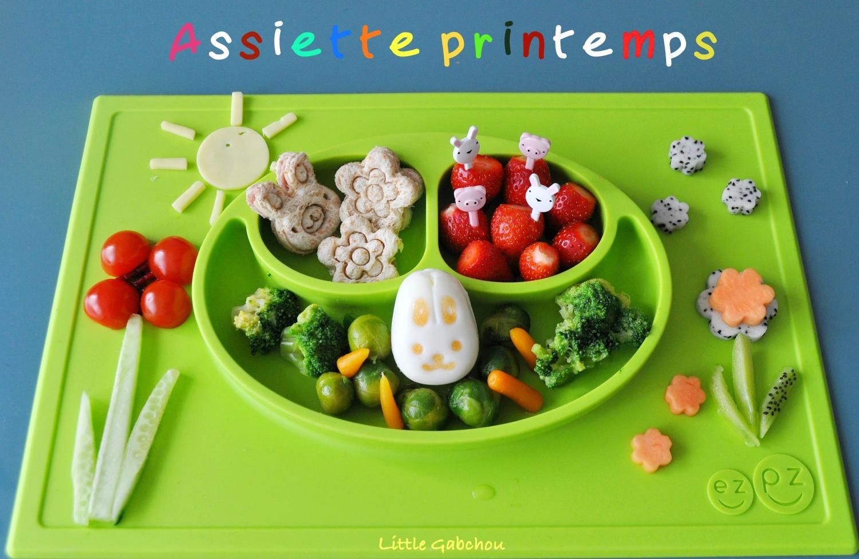 EzPz fun presentation et test assiette pour diversification bébés et enfants