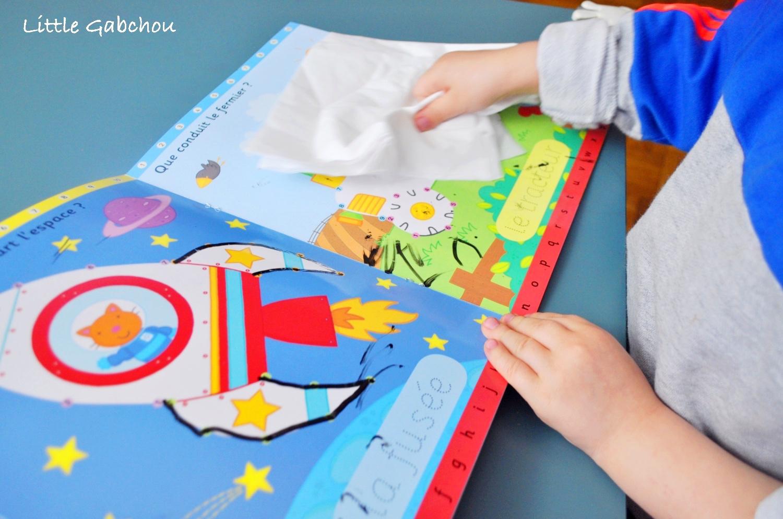 livre jeu pour enfants activités périscolaires relier les points et compter