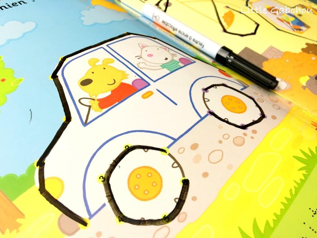 livre activité pour enfants relier les points et apprendre à compter