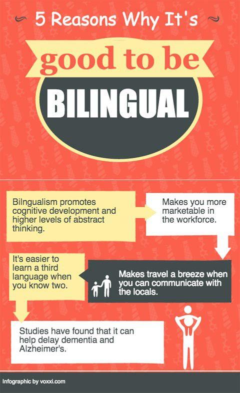 les bienfaits du bilinguisme