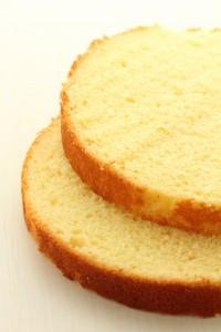 Aperçu de la genoise Victoria sponge cake pour cake design