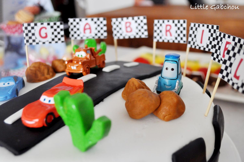 cake design Cars Disney Pixar gâteau anniversaire