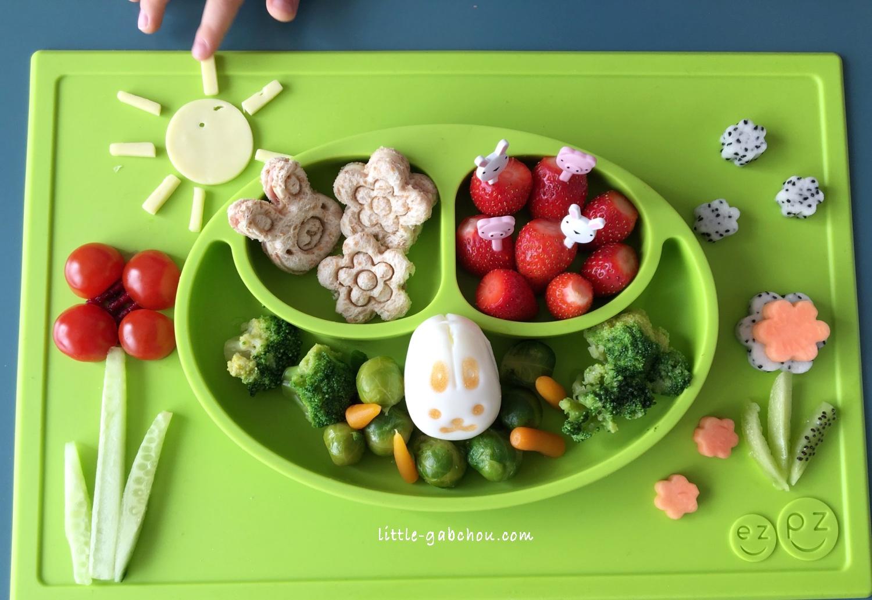 ezpz food art pour faire manger des légumes aux enfants, foodart for kids