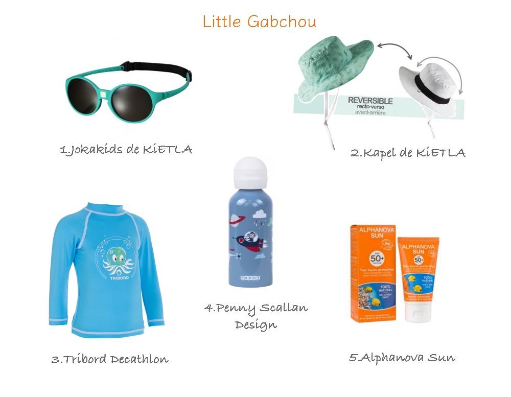 sélection produits indispensables pour l'été pour enfants et bébés