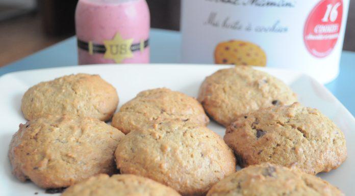 Recette cookie moelleux chocolat banane little gabchou - Recette cookies chocolat moelleux ...