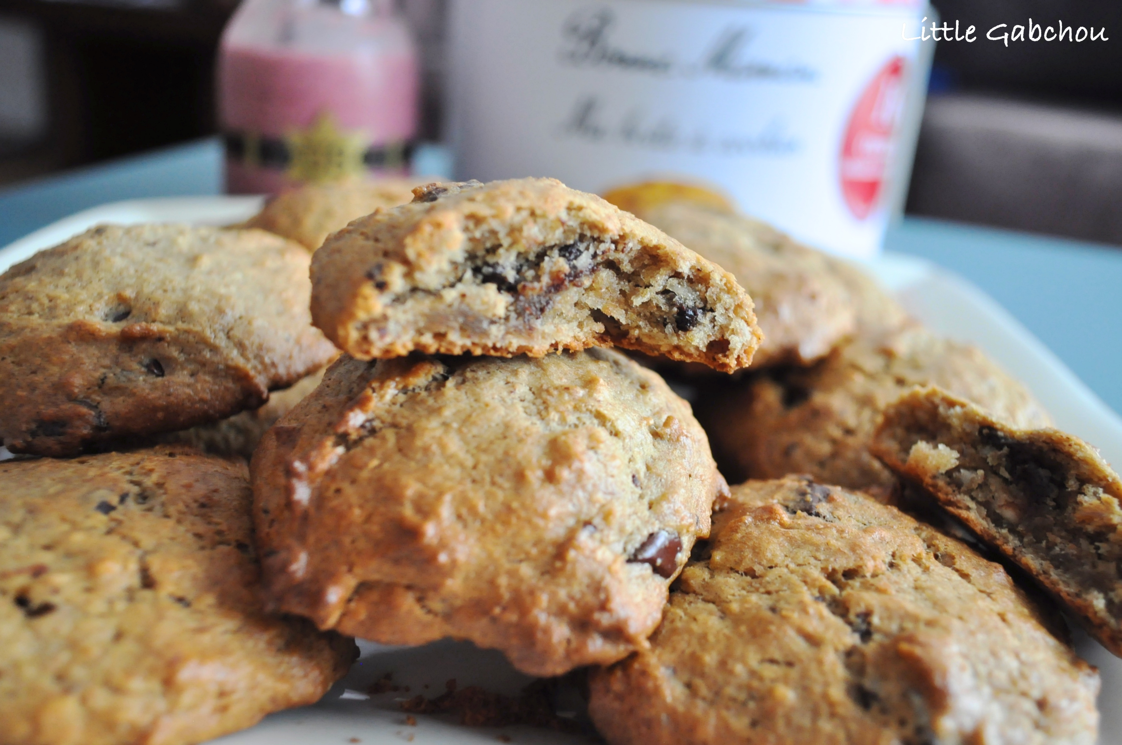 recettes saine cookie chocolat vegan banane pour enfants