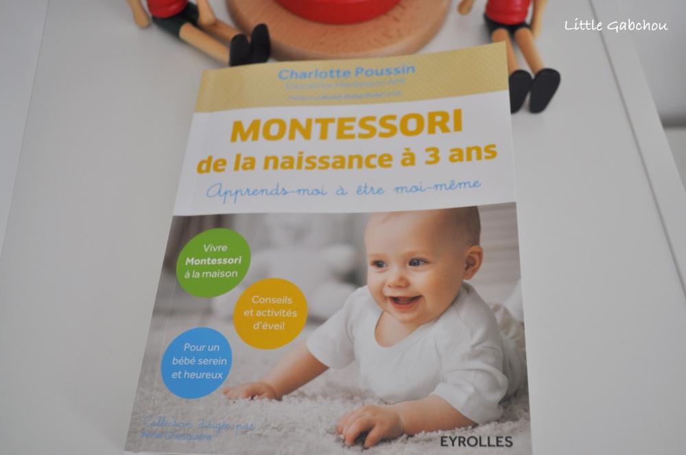 livre montessori de la naissance à 3 ans pédagogie montessori