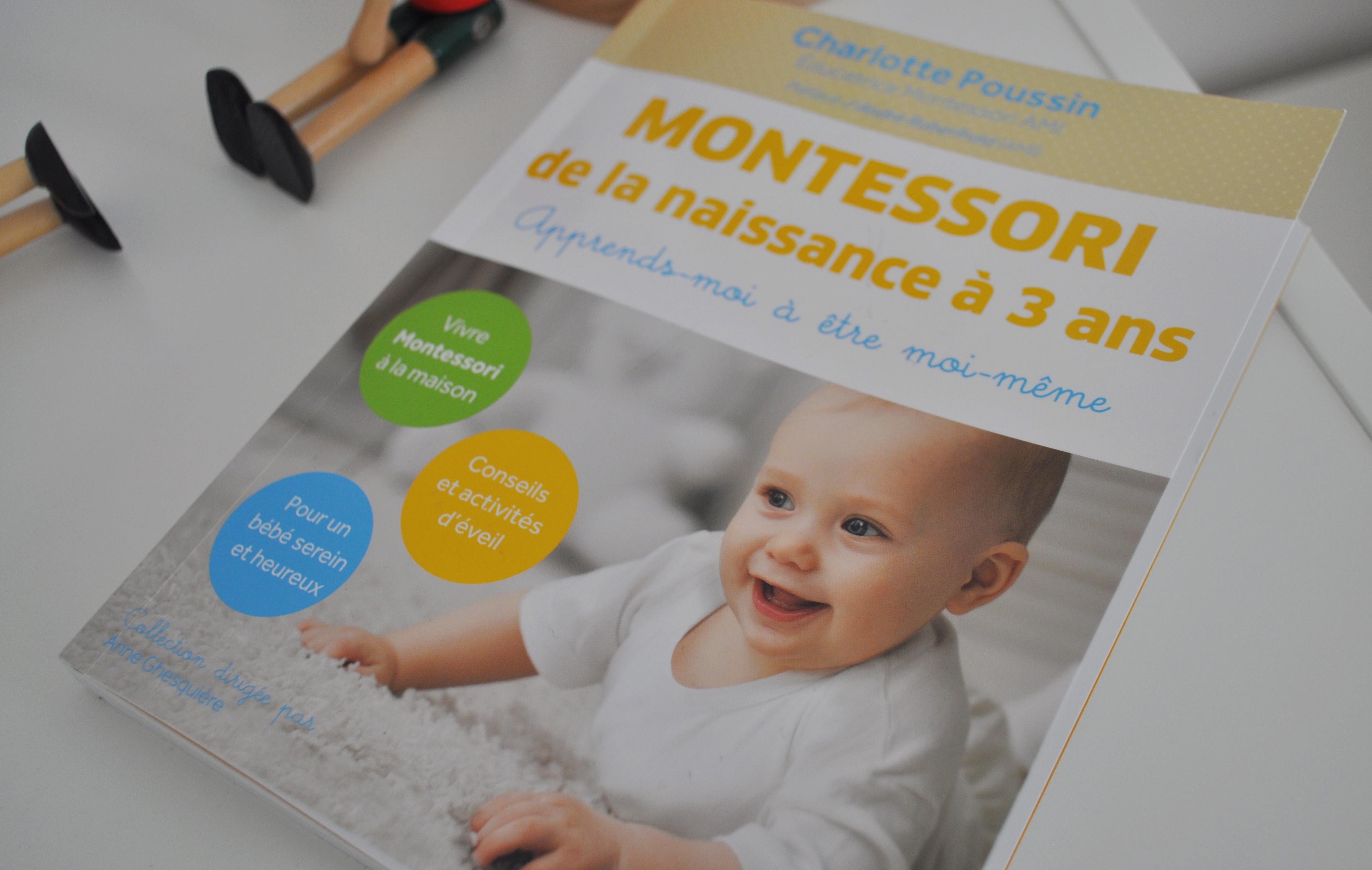 """5 raisons pour lire le livre """"montessori de la naissance à 3 ans ..."""