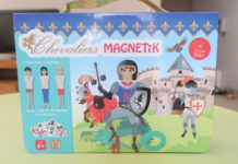 Idée cadeau garçons et filles coffret magnétique de Doux moulin