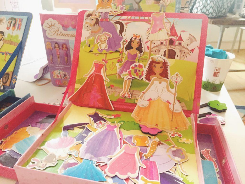 coffret magnétique Doux moulin Princesses