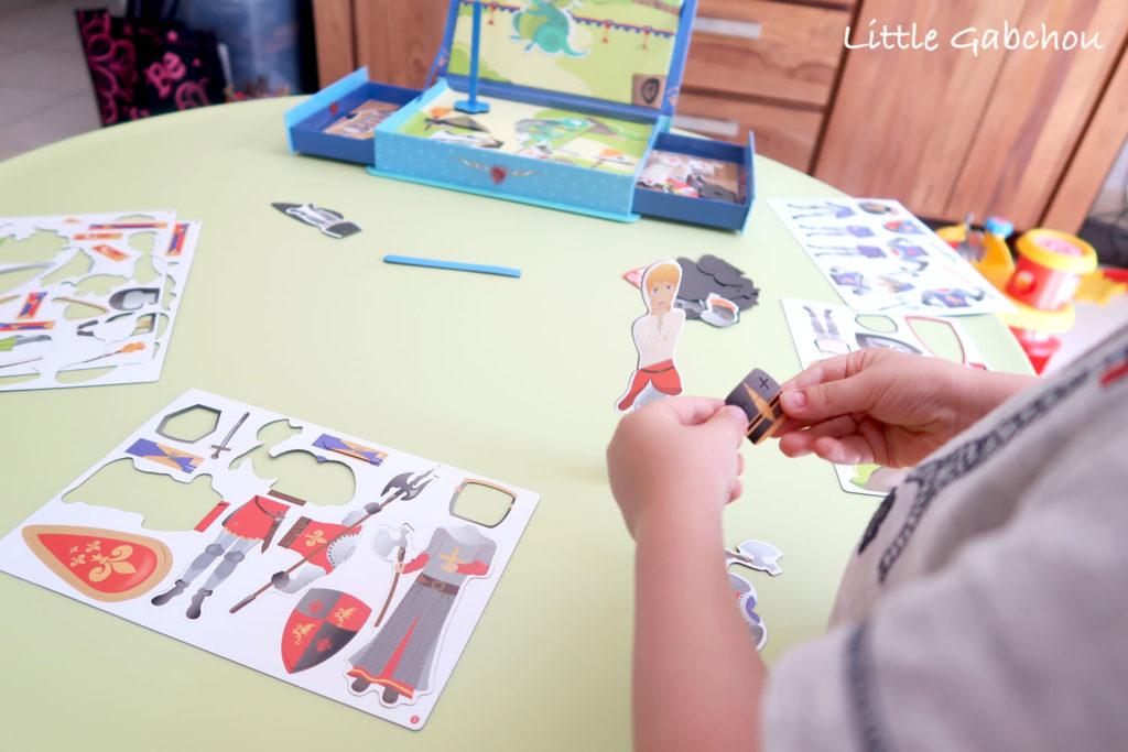 coffret-chevaliers-doux moulin idee cadeau pour les petits