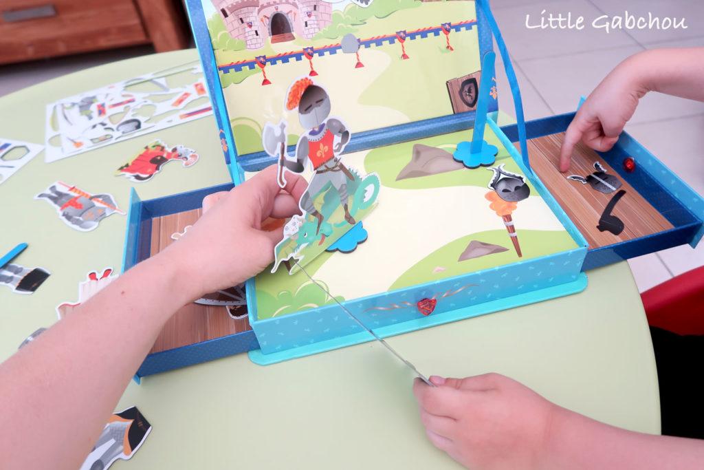 test et avis doux-moulin coffret chevalier-jeu pour enfants