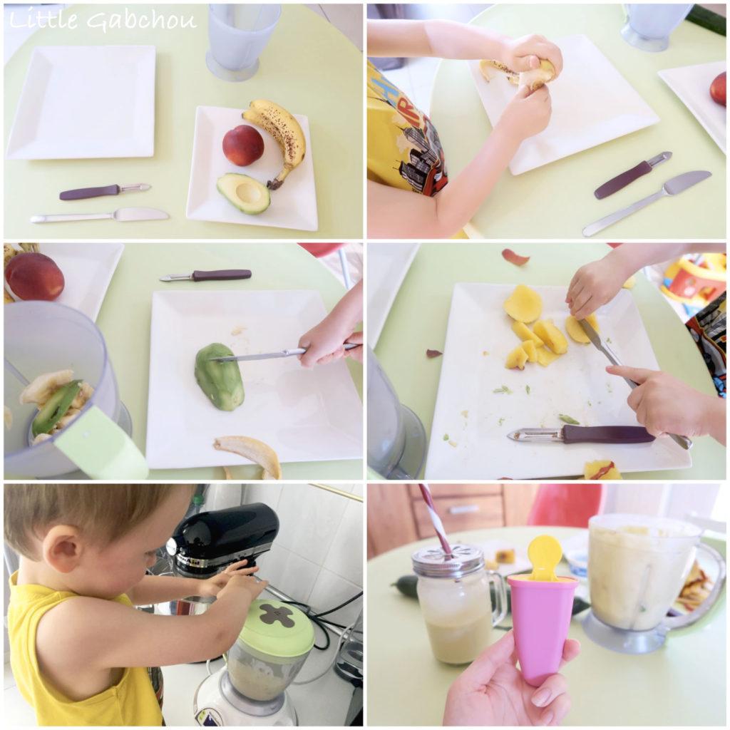 montessori à la maison vie pratique cuisiner tout seul