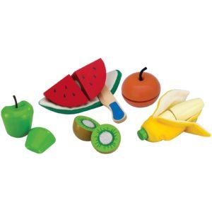 des aliments à découper en bois jouet enfant