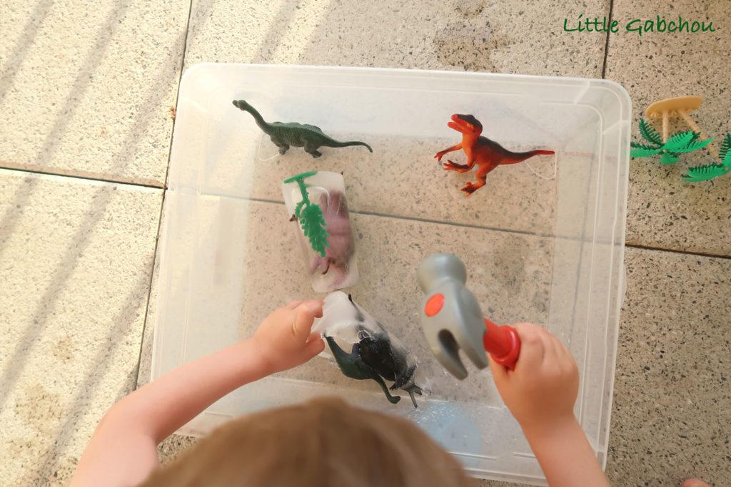 activite-sensorielle-dino paléontologue