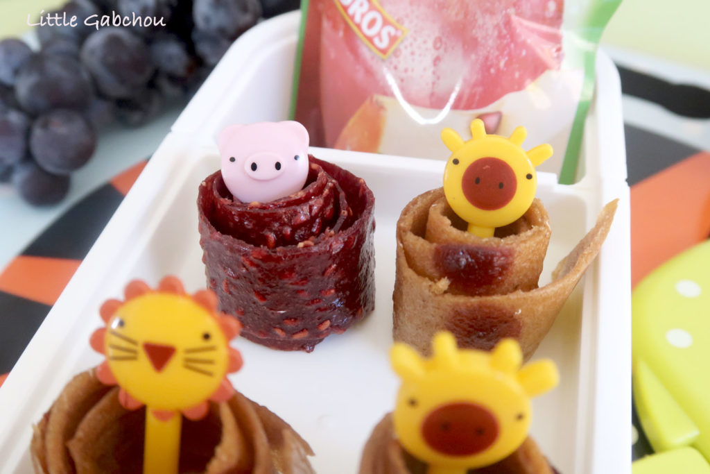 fruits-roll-up rouleaux de fruits maison