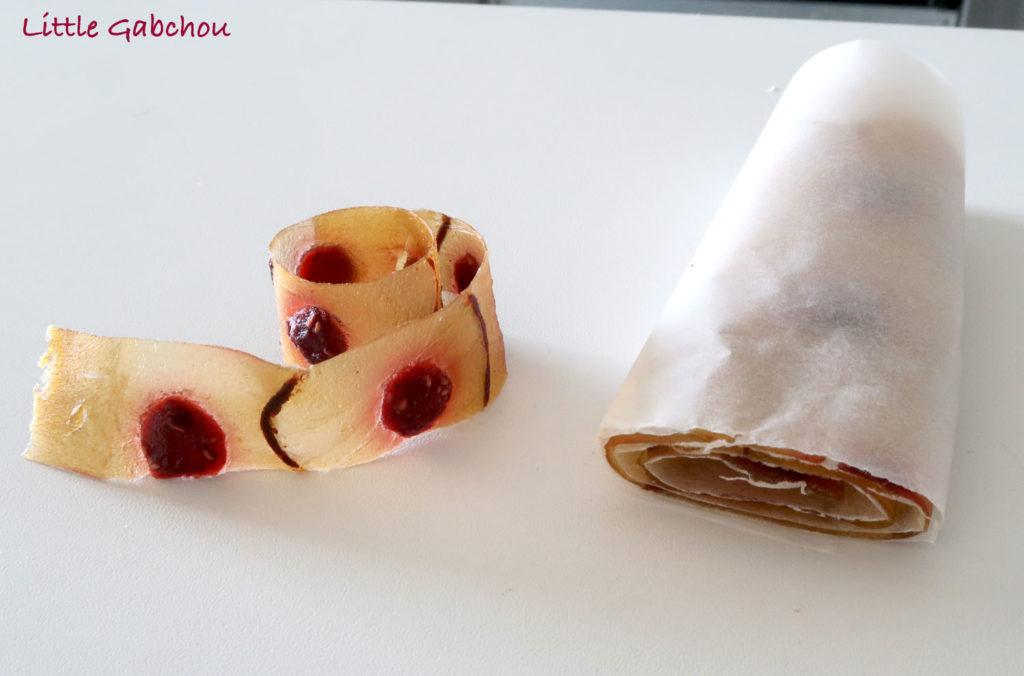 rouleaux de fruits pour les enfants polka dot fruits roll ups