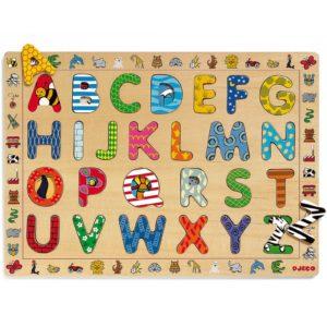 idée cadeau enfant é et 3 ans puzzle d'encastrement