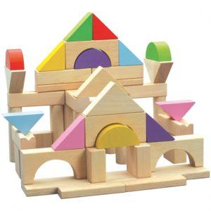 blocs à empiler jouets montessori
